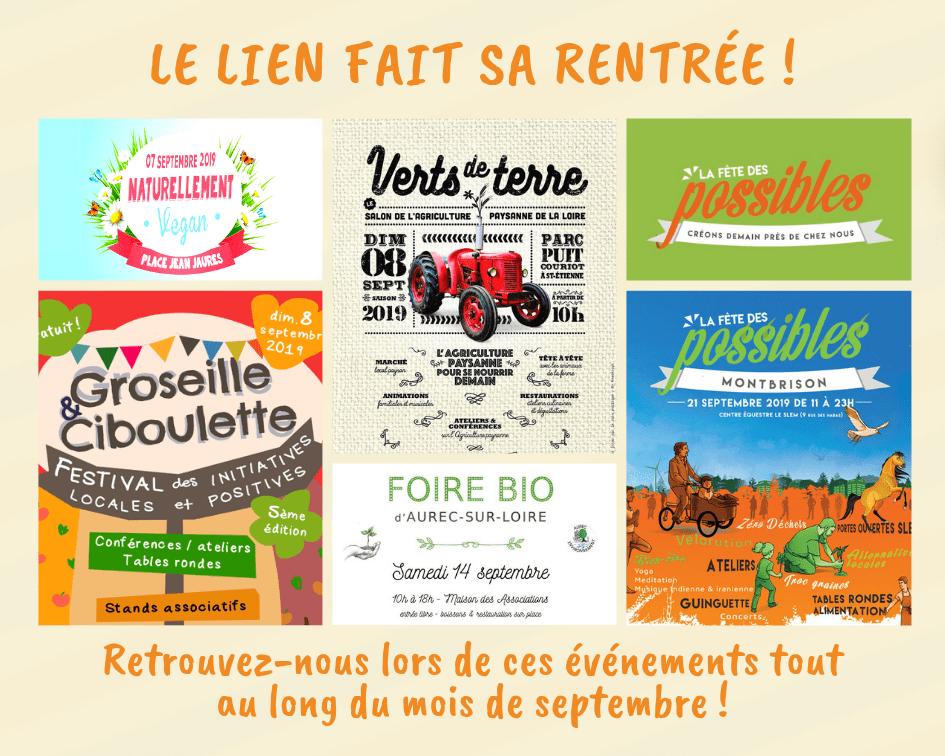 Septembre 2019   Le LIEN fait sa rentrée !